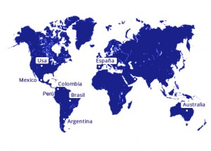 Mapa del Mundo Boston Medical Group España