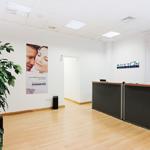 Recepción de una clínica en Boston Medical Group España