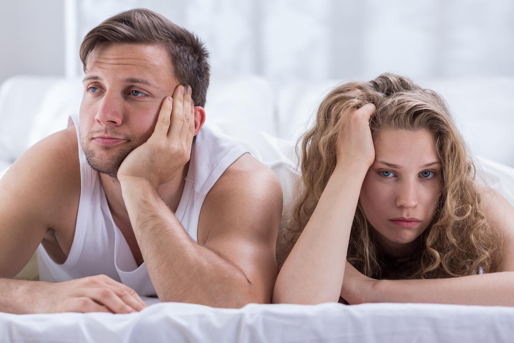 Cómo afectan los problemas de erección en la pareja